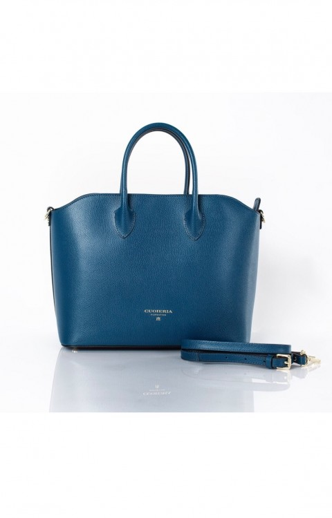 Handbag Folds Blue